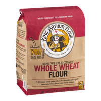 King Arthur Flour 100% Whole Grain Whole Wheat Flour
