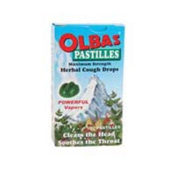 Olbas Therapeutic Herbal Cough Drops - Maximum Strength - Case of 12 - 1.6 oz - HSG-821702