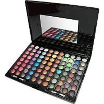 Shany Cosmetics Eyeshadow Palette, Bold and Bright Collection, Metallic, 88 Color