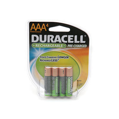 Duracell Rechargeable Pre-Charged Batteries