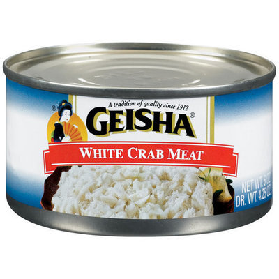 Geisha White Crab Meat, 6 oz