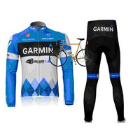 2012 GARMIN team harness long-sleeved cycling clothing / bike clothing breathable perspiration