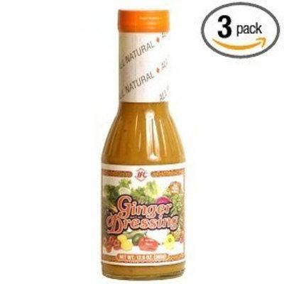 JFC Ginger Dressing 13.2 Oz. (pack of 3)