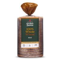 Pepperidge Farm Archer Farms 100% Whole Wheat Sliced Bread - 24 oz