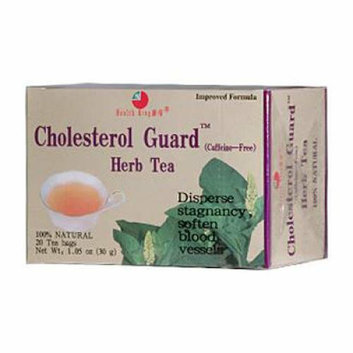 Health King Cholesterol Guard Herb Tea 20 Tea Bags