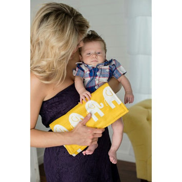 Brownie Gifts Yellow Elephant Diaper Clutch