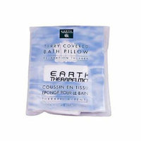 Earth Therapeutics Terry Covered Bath Pillow White 1 Unit