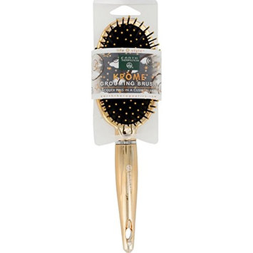 Earth Therapeutics HAIR BRUSH, GOLD, KRM, PNTD