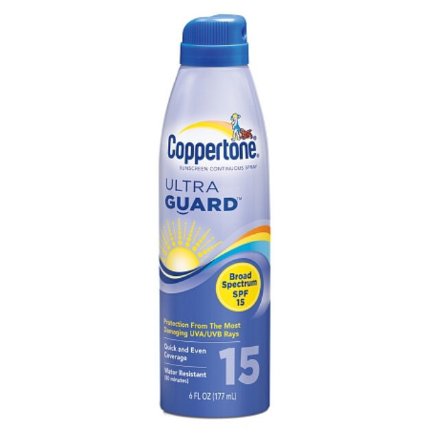 Coppertone UltraGuard Sunscreen Continuous Spray