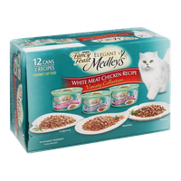 Purina Fancy Feast Elegant Medleys White Meat Chicken Recipe Variety Collection - 12 CT