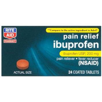 Rite Aid Brand Rite Aid Ibuprofen, 24 ea
