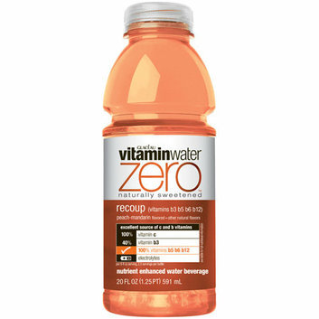 vitaminwater Zero Recoup Peach Mandarin