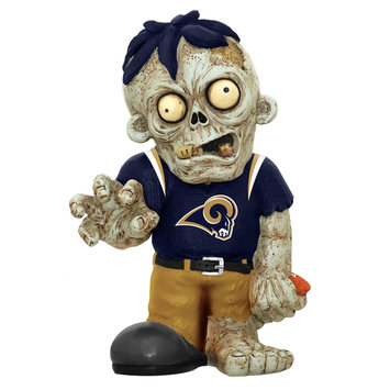 Recaro North Forever Collectibles NFL Resin Zombie Figurine St. Louis Rams (#ZMBNF13TMSR)