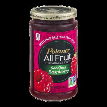 Polaner All Fruit Spreadable Fruit Seedless Raspberry