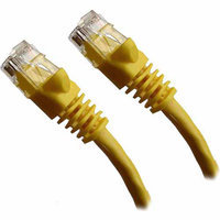 Professional Cable 50' Gigabit Ethernet UTP Cable with Boots, Yellow