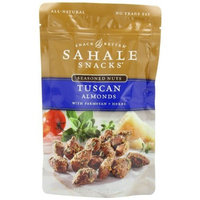 Sahale Snacks Tuscan Almonds with Parmesan + Herbs, 4-Ounce Bags (Pack of 6)