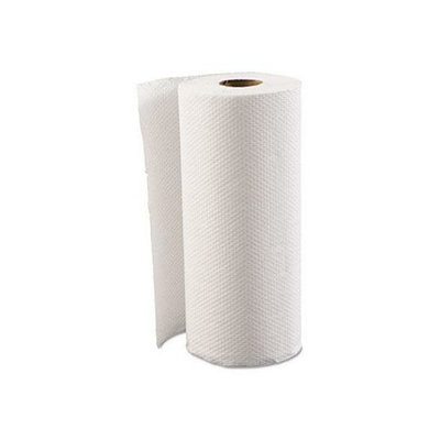 Boardwalk 6274 White 2-Ply Household Perforated Paper Towel Roll
