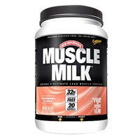 CytoSport Muscle Milk Protein Powder, Strawberry N'Creme, 2.47 lbs