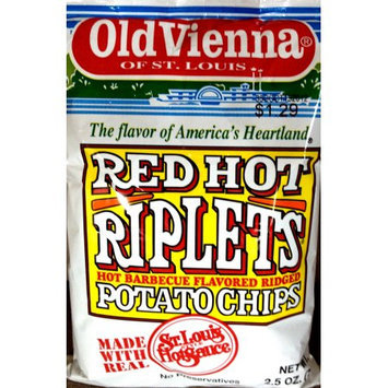 Old Vienna Red Hot Ripplet Large 12 Oz