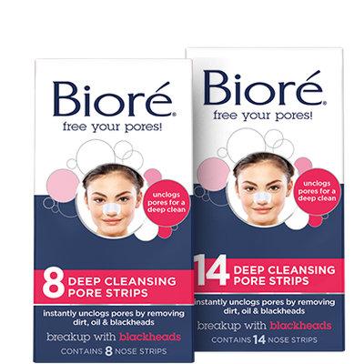 Bioré® Deep Cleansing Pore Strips