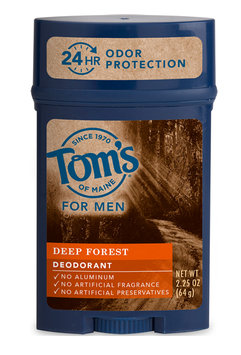 Tom's OF MAINE Deep Forest Men's Long Lasting Wide Stick Deodorant