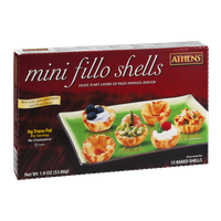 Athens Mini Fillo Shells - 15 CT
