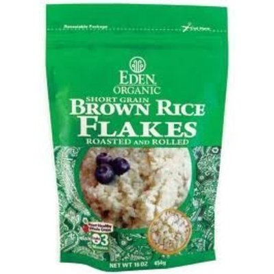 Eden Foods Organic Brown Rice Cereal Flakes 16 oz. (Pack of 12)