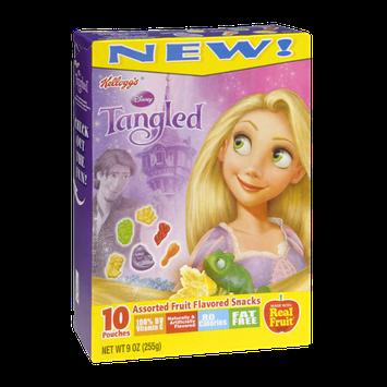 Kellogg's Disney Tangled Assorted Fruit Flavored Snacks - 10 PK