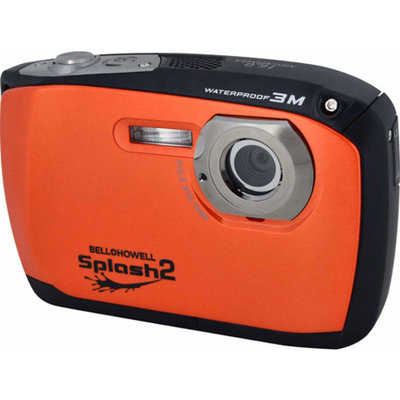Bell & Howell Bell+Howell Orange Splash2 WP16 Digital Camera with 16 Megapixels and 4x Digital Zoom