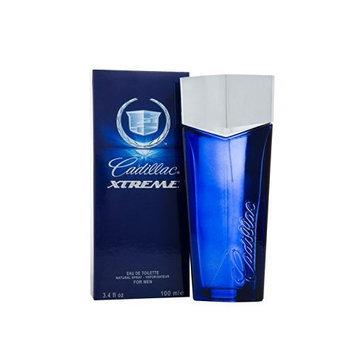 Cadillac Extreme Eau De Toilette Spray for Men, 3.4 Ounce