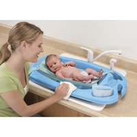 Safety 1st 3-in-1 Cradle and Comfort Tub, Blue (Discontinued by Manufacturer)