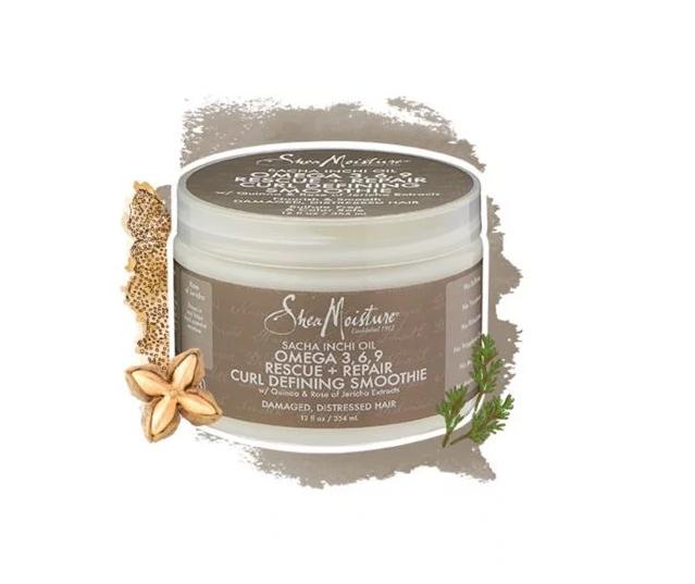 SheaMoisture Sacha Inchi Oil Omega-3-6-9 Rescue + Repair Curl Defining Smoothie
