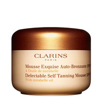 Clarins SPF 15 Delectable Self Tanning Mousse