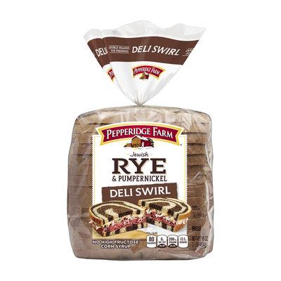 Pepperidge Farm® Jewish Rye & Pumpernickel Deli Swril Bread
