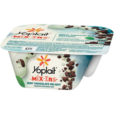 Yoplait® Light Mix-ins Mint Chocolate Delight Traditional-style Yogurt