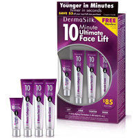 DermaSilk 10 Minute Ultimate Face Lift Cream Kit, 4 pc (Look Younger in Minutes)
