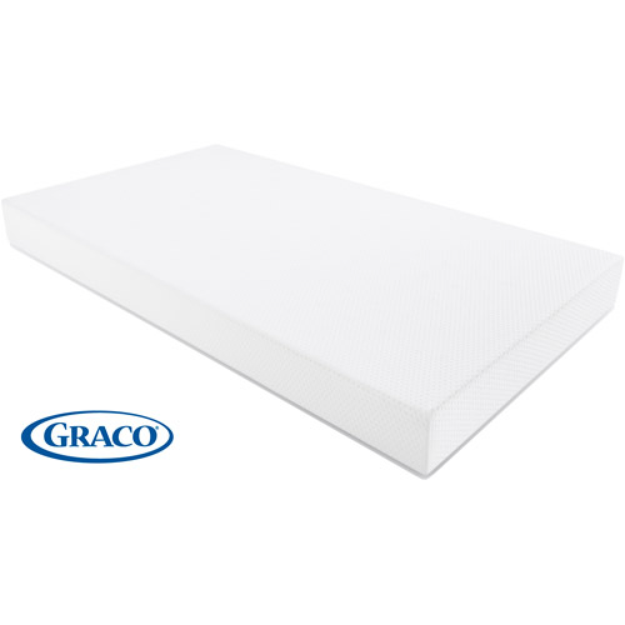 Graco Deluxe Foam Crib and Toddler Mattress-in-a-Box