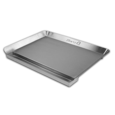 Little Griddle Inc. Little Griddle Essential Series Euro-Q - Full-Size, Low Profile Stainless Steel Griddle
