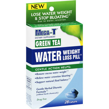 Mega-T Green Tea Water Weight Loss Dietary Supplement