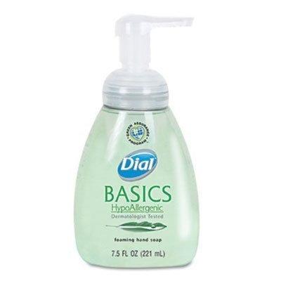 Dial Corp. 06042 Basics Foaming Hand Soap, 7.5 oz., Honeysuckle