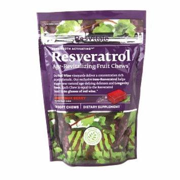 Resvitale ResVitale Resveratrol Age-Revitalizing Fruit Chews, Bordeaux Berry, 30 ea