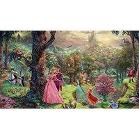 Ceaco Sleeping Beauty Thomas Kinkade Disney Dreams Collection Jigsaw Puzzle (750pc)