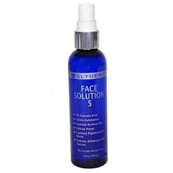 Gly Derm Face Solution 5, 4 oz