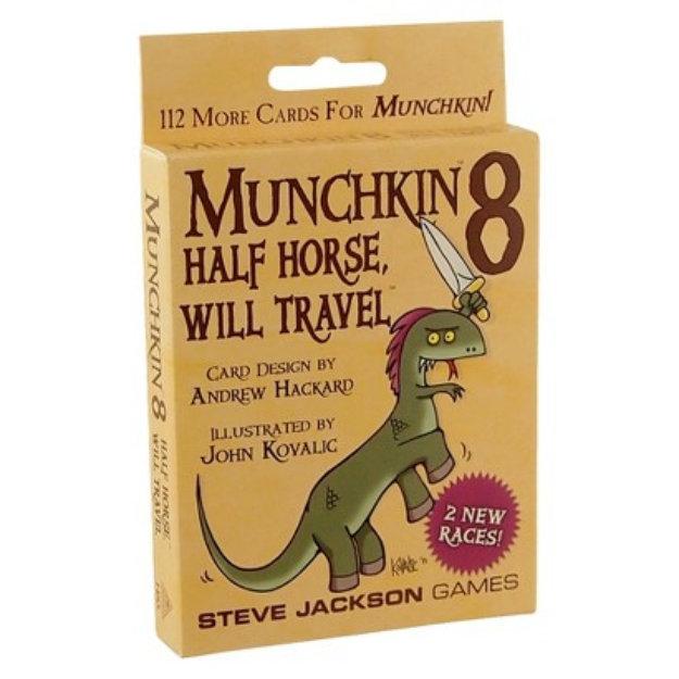Munchkin MUNCHKIN 8 Half Horse, Will Travel Card Game