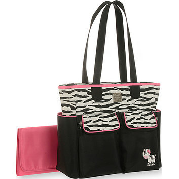 Child of Mine by Carter's Child of Mine Zebra Tote Diaper Bag