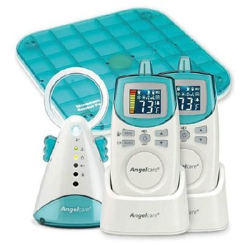 Angel Care Deluxe Movement & Sound Monitor: 2 Parents Unit - 1 Sensor Pad