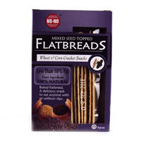 No! No No No Flatbread Mixed Seed Crackers 130g