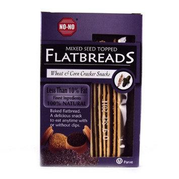No! No No No Flatbread Mixed Seed Crackers 130g