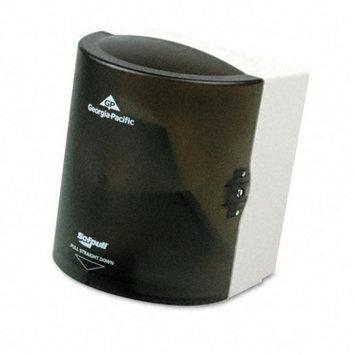 Georgia Pacific Sofpull CenterPull Hand Towel Dispenser, 9-1/4w x 8-3/4d x 11-1/2h, Smoke