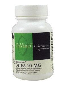 DaVinci Laboratories - Micronized DHEA 10 mg. - 90 Vegetarian Capsules